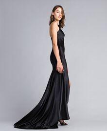 Robe longue Noir Femme QS8TGE-02