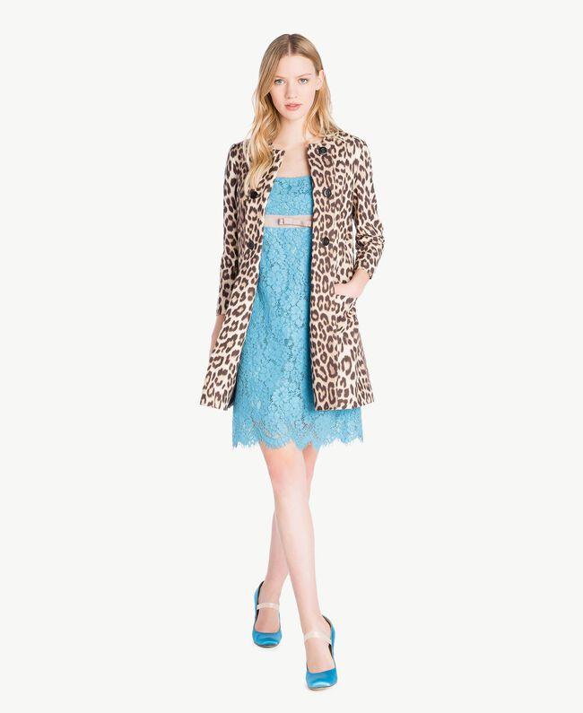 Lace dress Oriental Blue Woman PS82XA-05