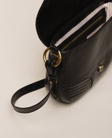 Large Rebel shoulder bag Black Woman 201TA723J-05