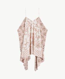 Kleid mit Print Patchprint Vegas Pink Frau BS8AJJ-01