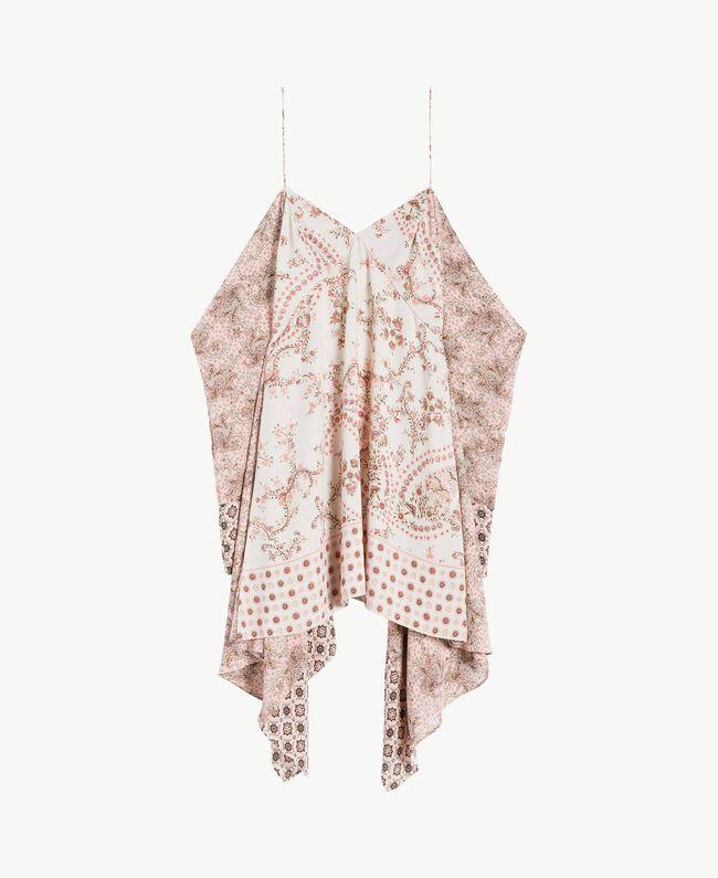 Printed dress Vegas Pink Patch Print Woman BS8AJJ-01