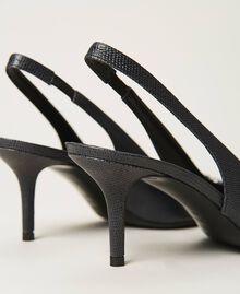 """Salones de piel con hebilla joya Beis """"Nudo"""" Mujer 202TCP018-04"""