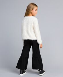 Fur stitch jumper Off White Child GA83D2-03