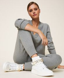 High top trainers with logo White Woman 202TCP030-0S