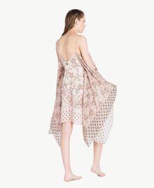 Printed dress Vegas Pink Patch Print Woman BS8AJJ-04