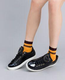 Chaussettes côtelées avec lurex Brandy Femme AA8P6A-0S