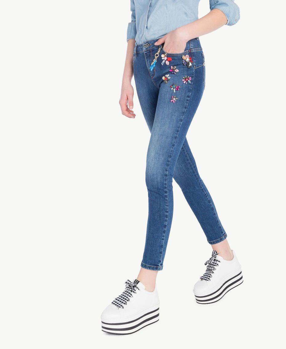 Jean skinny Bleu Denim Femme JS82WD-02