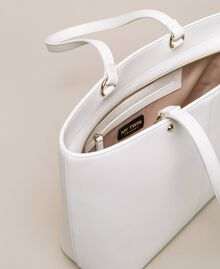 Faux leather shopper with scarf Lily Woman 201MA7080-06