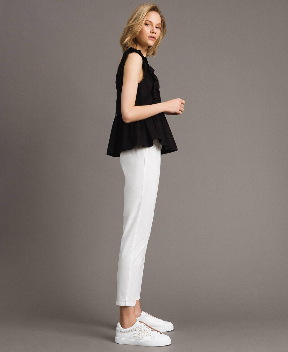Poplin leggings Off White Woman 191ST2043-02