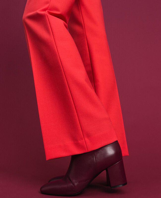 Pantaloni in lana tecnica Fucsia Pink Vegas Donna 192TT2450-04