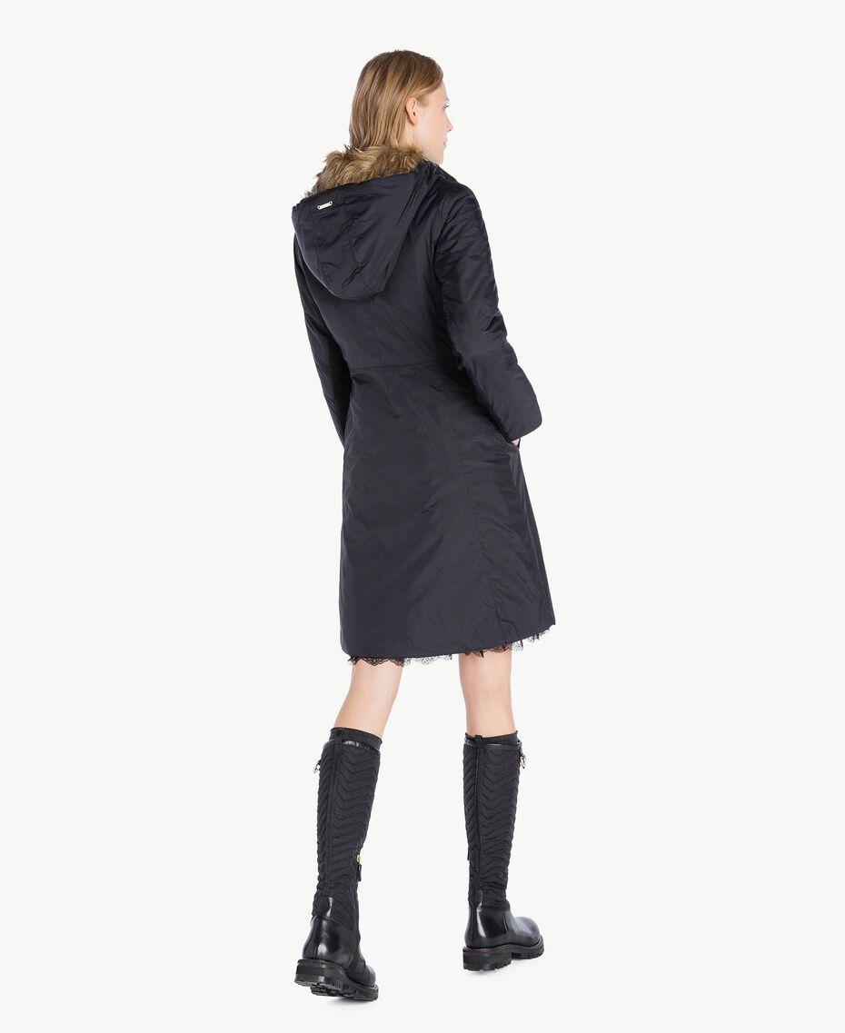 TWINSET Stiefel aus Leder Schwarz CA7TB3-06