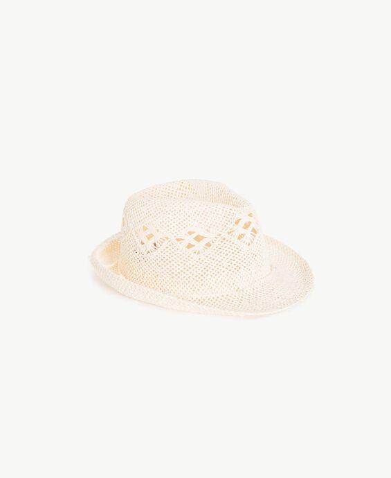 Openwork hat
