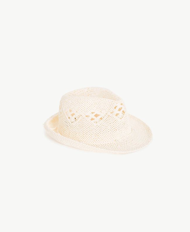 Openwork hat Pale Cream Child GS8HGA-01