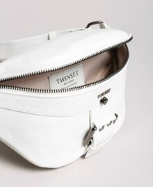 Rebel leather bum bag White Snow Woman 191TO8635-04