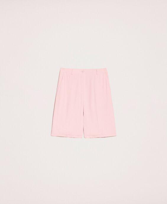 Georgette Bermuda shorts