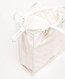 Сумка-шоппер с сумочкой-вкладышем с логотипом Белый женщина 201TA7180-05