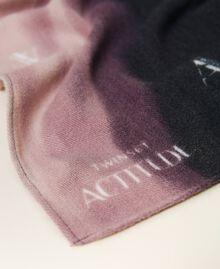 Schal aus Tuch mit Print Print rauchiges Perlmutt-Weiß Frau 212AO534B-02
