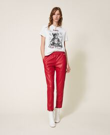 T-shirt con stampa e spille Off White Donna 202MT2303-0T