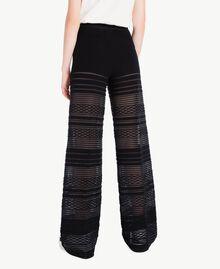 Pantalon viscose Noir Femme PS8363-03