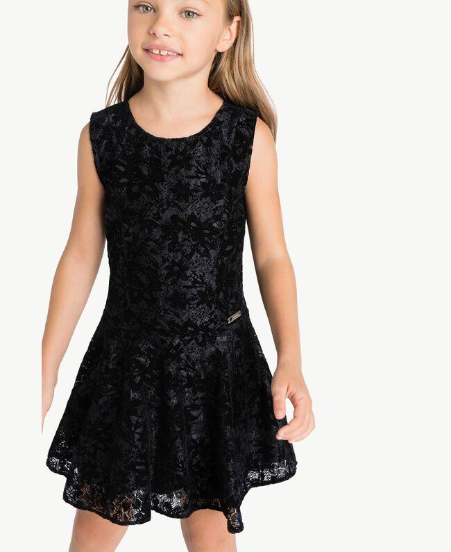 Vestido de encaje Negro GA72LB-04