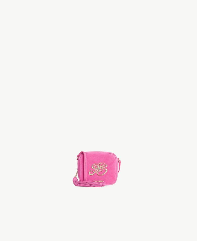 TWINSET Mini logo clutch bag Provocateur Pink Woman OS8TEB-01