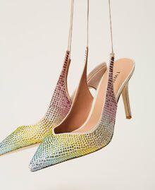 Zapatos de salón recubiertos de strass «Strass Rainbow» Mujer 211TCT092-01
