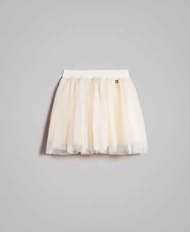 Tulle skirt Pale Cream Child 191GJ2700-01