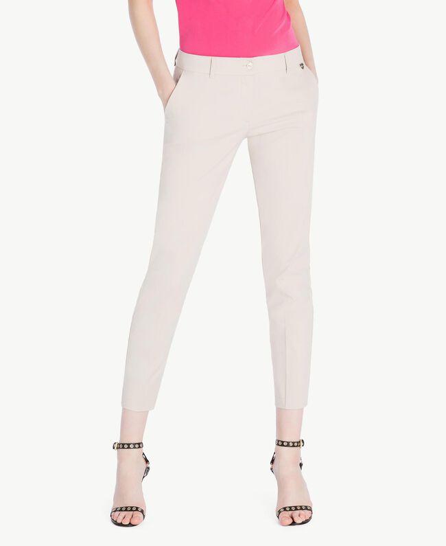 Pantalon cigarette popeline Dune Femme TS8213-01