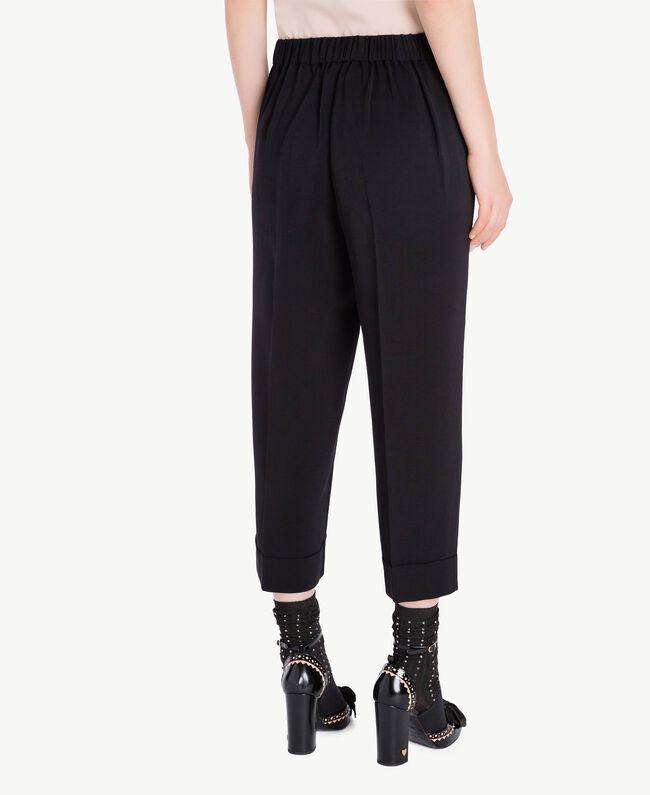 Pantalon cropped Noir Femelle PA72TB-05