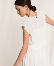 Broderie anglaise long dress White Snow Woman 201TP2497-06