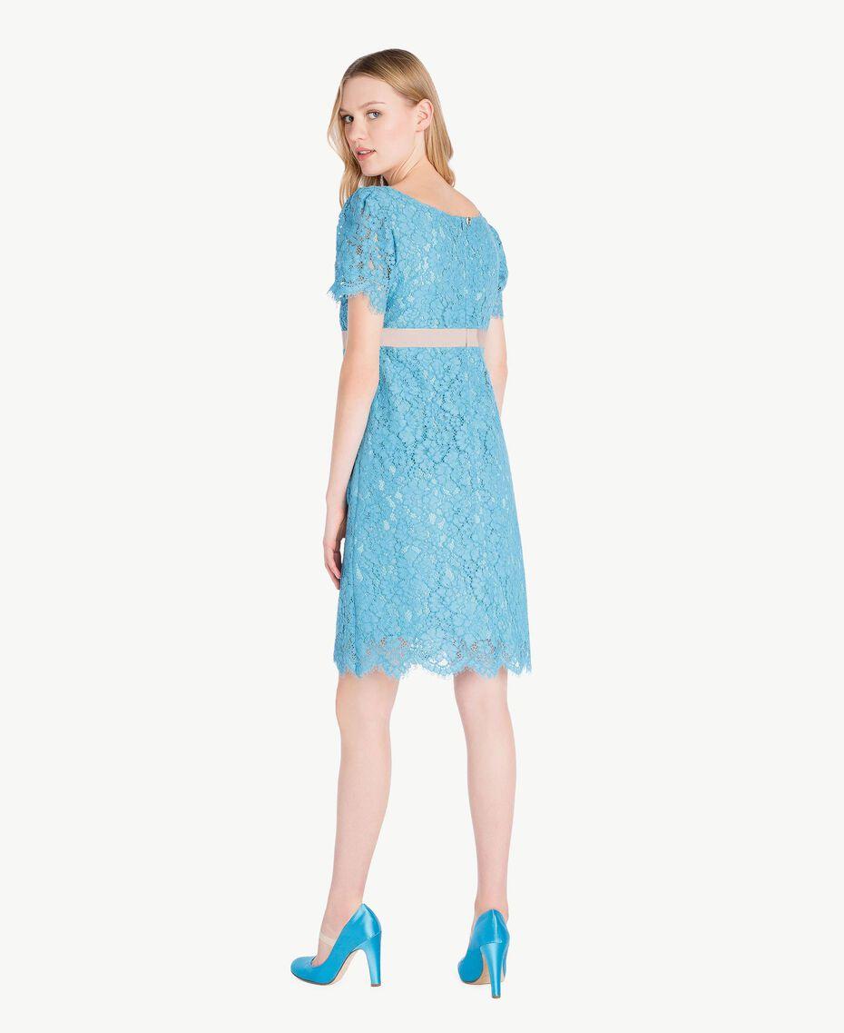 Lace dress Oriental Blue Woman PS82XA-03