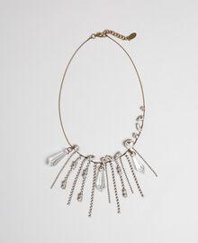 Collier ras-du-cou avec pierres et strass Cristal Femme 192TA4365-01