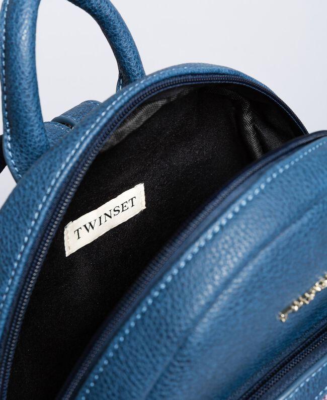 Рюкзак из искусственной кожи с пайетками Синий Blackout Pебенок GA87CN-04