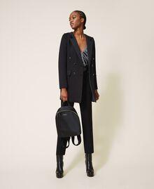 Sac à dos Twinset Bag en satin Noir Femme 202TB7201-0T