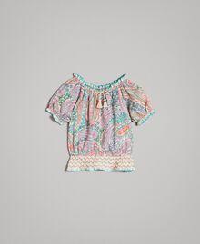 Viskose-Bluse mit Paisley-Aufdruck Motiv Paisley Kind 191GB2511-01