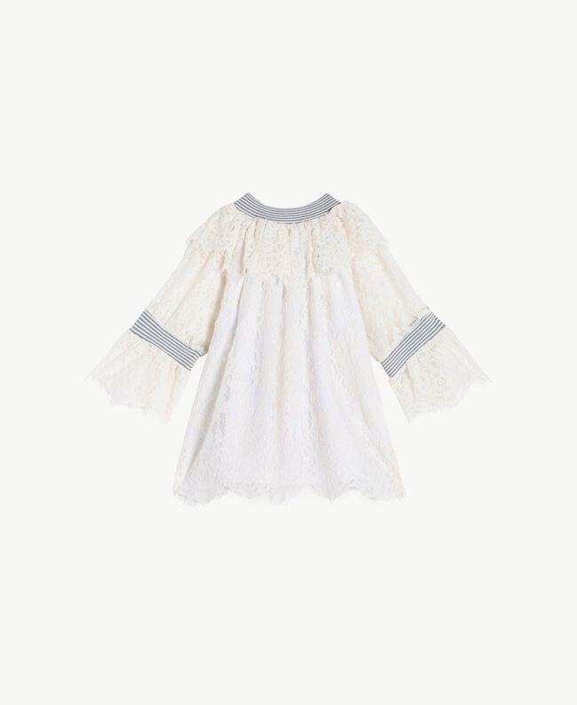 Lace blouse Pale Cream Child GS82UR-01