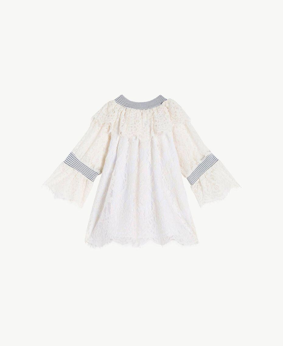 Blouse dentelle Chantilly Enfant GS82UR-01
