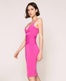 Vestido de tubo de punto Rosa «Jazz» Claro Mujer 201TT3182-02