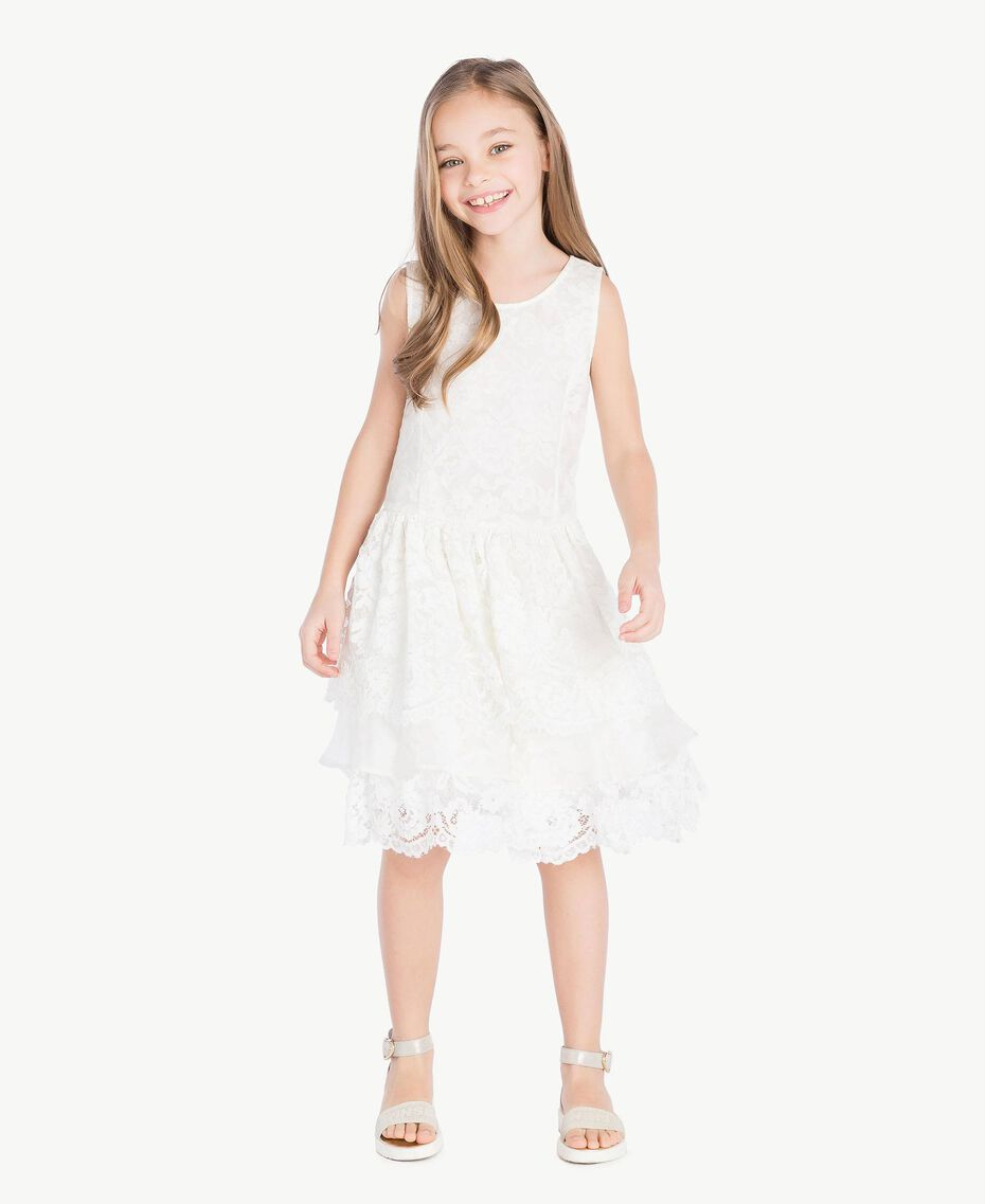 Robe soie Chantilly Enfant GS8LD1-02