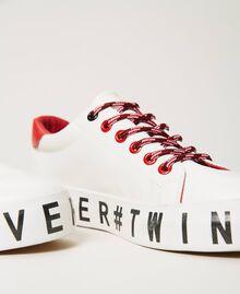 Sneakers mit Logo Weiß Frau 202LIPZCC-04