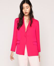 Satin blazer Wild Rose Woman 201MT2031-02
