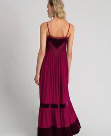 Slip dress with velvet details Red Velvet Woman 192TT2280-03