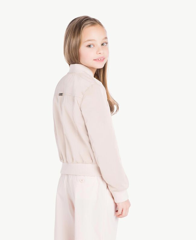 Duchess bomber jacket Bud Pink Child GS82VA-04