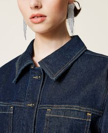 Giacca 'Gold' in jeans Denim Rinse Donna 212AP2143-04