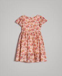 Robe à fleurs en georgette Imprimé Mini-Fleurs Enfant 191GB2801-0S