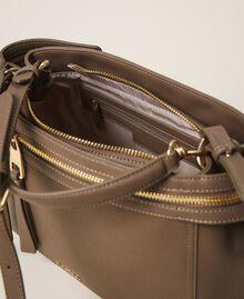 Große New Cécile Bag aus Lederimitat Taube Frau 202TB7180-05