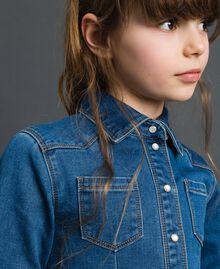 Abito chemisier effetto jeans Denim Medio Bambina 192GJ2510-04