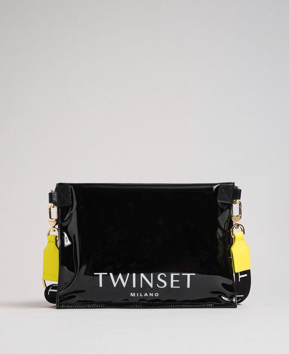 Маленькая складная сумка-шоппер из искусственной кожи Пыльный Розовый женщина 192TA7174-02