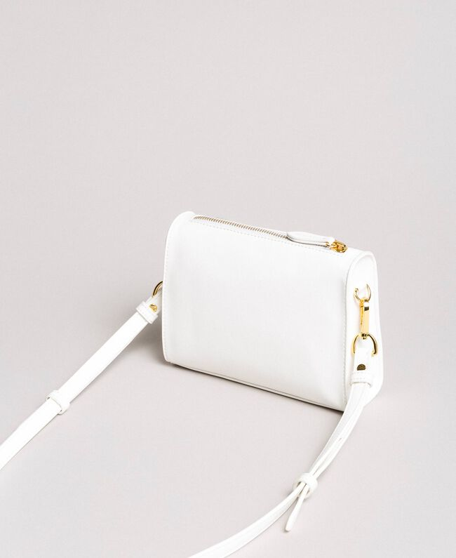 Faux leather shoulder bag with butterfly Off White Child 191GJ799F-03