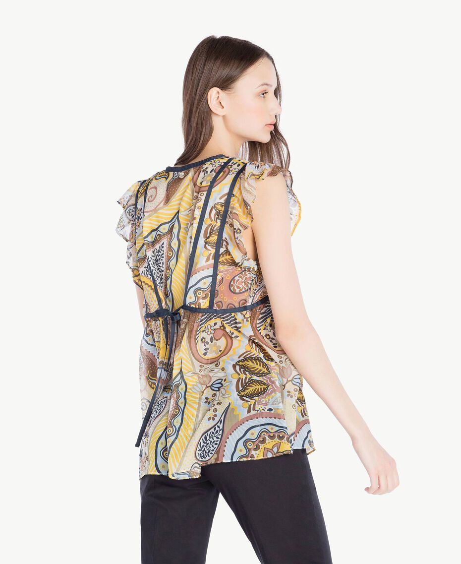 Printed top Paisley Print Woman SS82MB-03